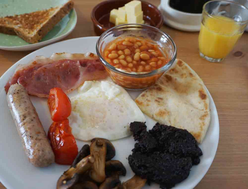 The full Scottish breakfast