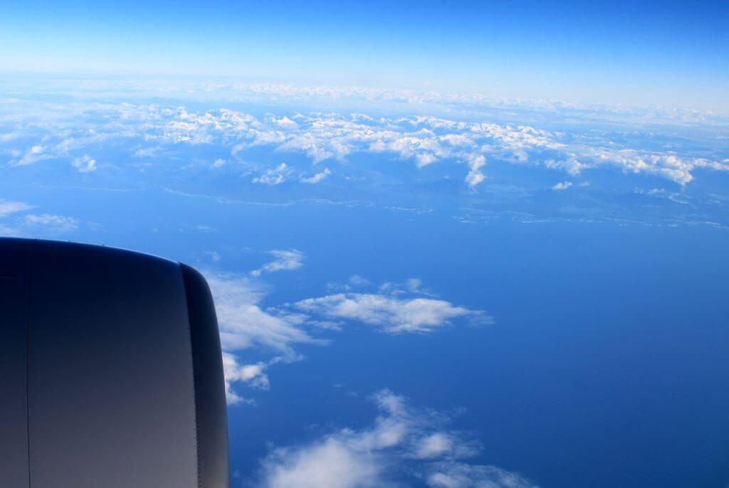 Window seat daytime view