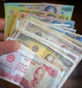 My million-Dong bankroll
